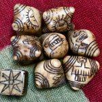 Alabaster Mini Chumpi Stones with Dice