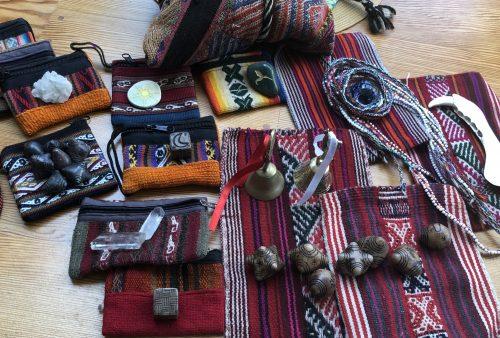 Peruvian Woven Zip Bags and Coca Bags